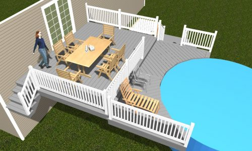 Plans for your backyard deck